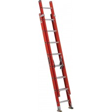 Louisville Type IA Double Extension Fiberglass Ladder 16""
