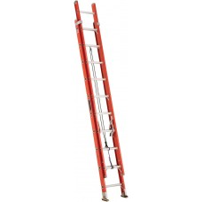 Louisville Type IA Double Extension Fiberglass Ladder 20""