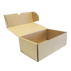 Single wall Plain Die cut Box - 298(L) x 188(W) x 104(H) mm