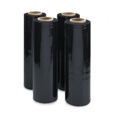 Black Stretch Film Hand Roll 23mic x 500mm x 245m (3kg)