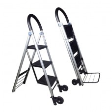 Crystar Aluminium Ladder convertible to Trolley