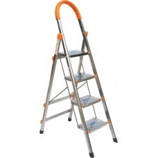 Louison Stainless Steel Household Ladder (4-step)