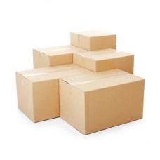 Double Wall Plain Pallet Fitting Carton Box - 494(L) x 294(W) x 388(H)mm