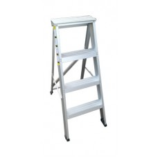 SUPER K Extra Heavy Duty Alum 11-Step Ladder CC-11