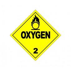 Class 2.2 Oxygen Label DG-03B (1000pcs/pkt)