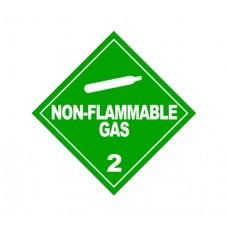Class 2.2 Non-Flammable Gas Label DG-04B (1000pcs/pkt)