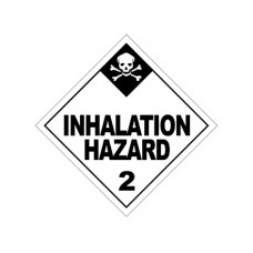 Class 2.3 Inhalation Hazard Label DG-05B (1000pcs/pkt)