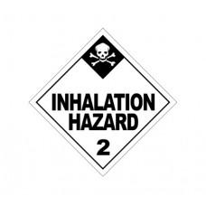 Class 2.3 Inhalation Hazard Label DG-05B (1000pcs/pkt)