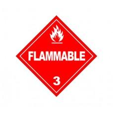 Class 3 Flammable Liquids Label DG-07A