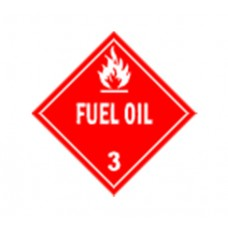 Class 3 Fuel Oil Label DG-10B (1000pcs/pkt)