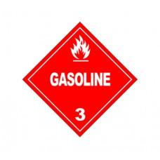 Class 3 Gasoline Label DG-11B (1000pcs/pkt)