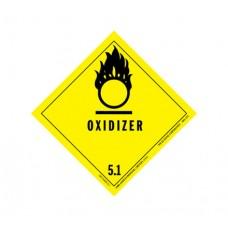 Class 5.1 Oxidizing Agent Label DG-16B (1000pcs/pkt)