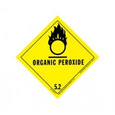 Class 5.2 Organic Peroxide Oxidizing Agent Label DG-17B (1000pcs/pkt)