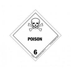 Class 6.1 Poison Label DG-18B (1000pcs/pkt)