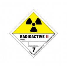 Class 7 Radioactive Label DG-20B (1000pcs/pkt)