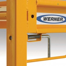 Werner SRS-72 6 ft Steel Rolling Scaffold, 1000 lbs
