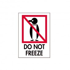 "International Safe Handling Labels - ""Do Not Freeze"""