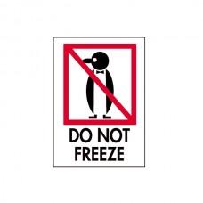 """International Safe Handling Labels - """"Do Not Freeze"""""""