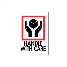 "International Safe Handling Labels - ""Handle with Care"""