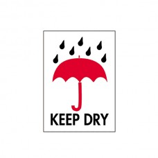 "International Safe Handling Labels - ""Keep Dry"""
