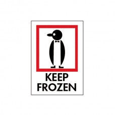 "International Safe Handling Labels - ""Keep Frozen"""