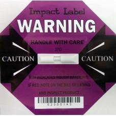 Impact Label 37G Purple, Drop Height: 20-40cm