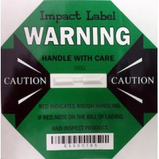 Impact Label 100G Green, Drop Height: above 90cm