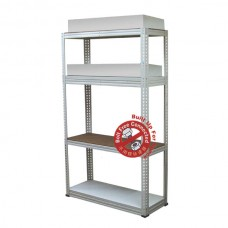 MYSTAR Steel Boltless Rack, 600mm (W) X 900mm (L) X 2.1m (H)